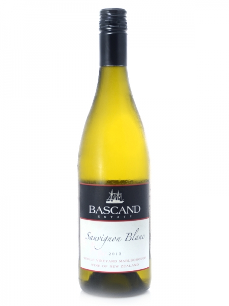 2013 Sauvignon Blanc, Bascand Estate, Single Vineyard Marlborough