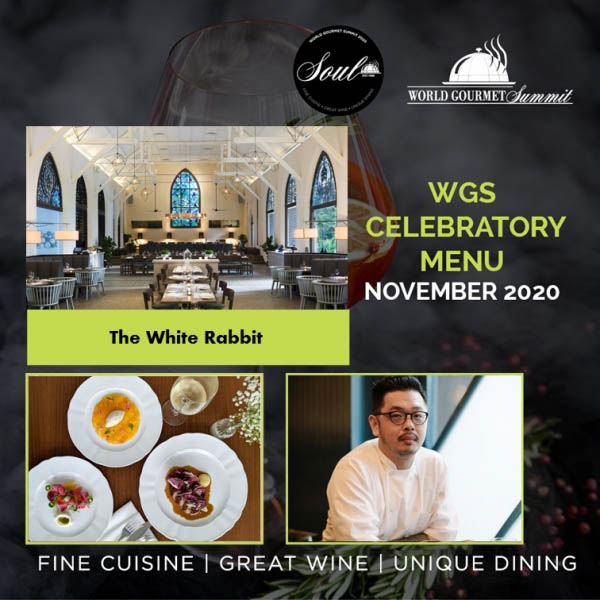 Celebrate The White Rabbit's Celebratory Menu with The World Gourmet Summit!