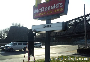 The end of MacDonald's?