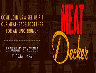 MEATliquor and Decker Barbecue present MEATdecker – an epic collaboration