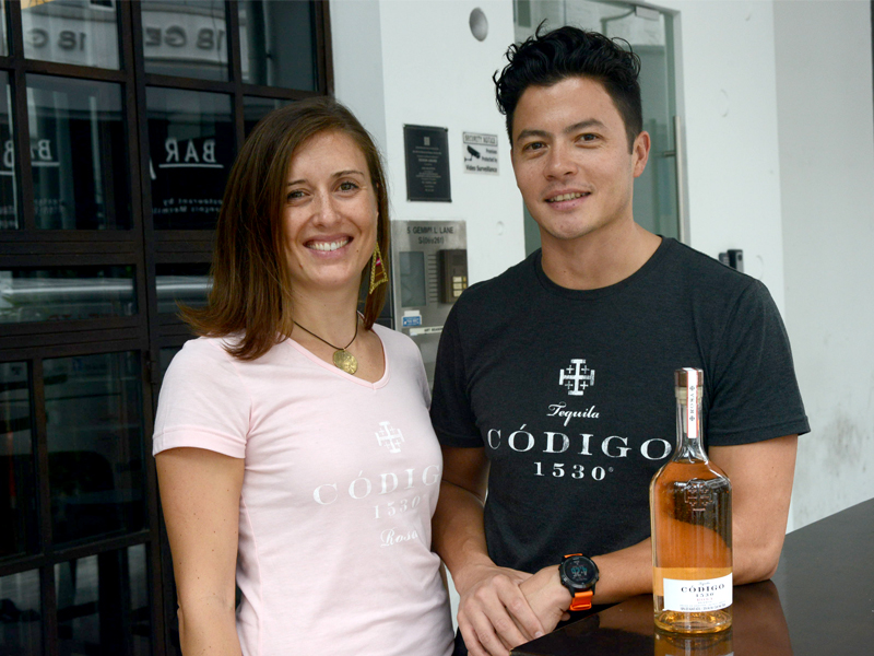 Director of Codigo 1530, Justin Tan, Introduces Their Pink Tequila To Singapore