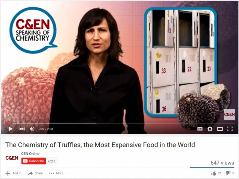 The Chemistry of Truffles, the Most Expensive Food in the World