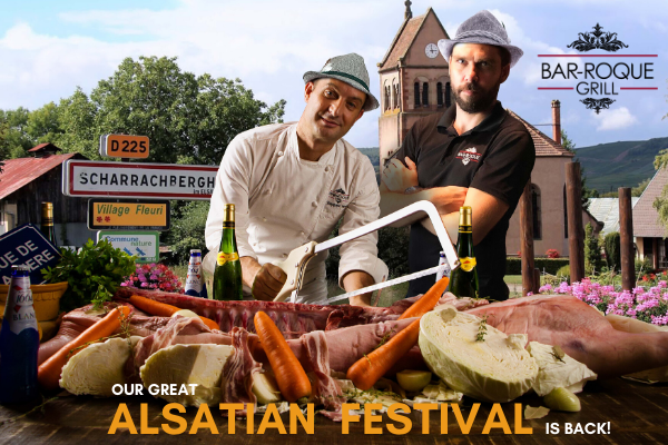 Bar-Roque Grill Presents The Alsatian Festival!