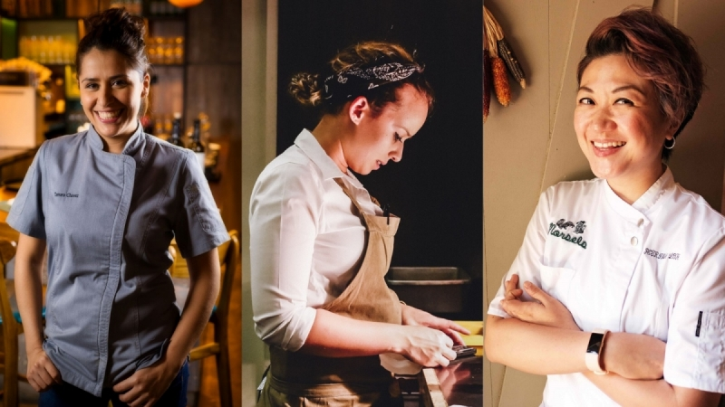 6-Hands Between Women Chefs
