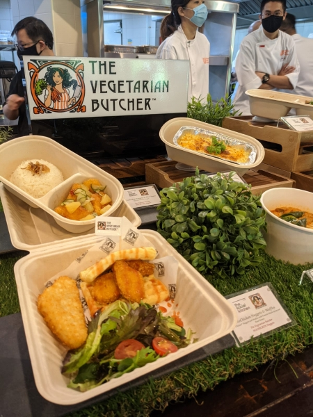 The Vegetarian Butcher Launching in The Social Kitchen