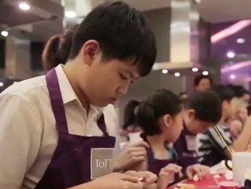 World Gourmet Summit 2014 - Junior Chefs Pastry Workshop