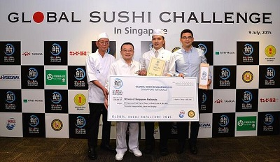 Singaporean Lands Second in Battle of World's Best Sushi Chefs
