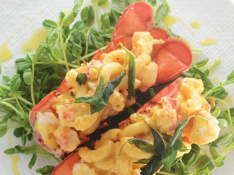 Lobster Mac & Cheese with Sage Brown Butter