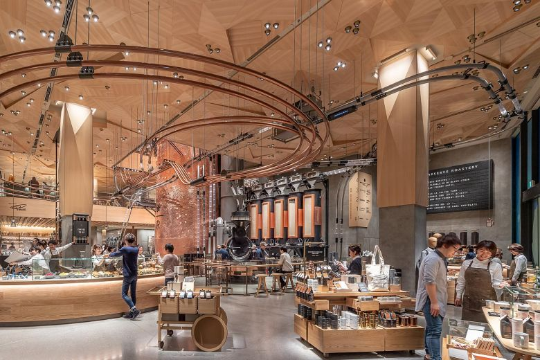 Starbucks Opens Their Largest Reserve Roastery in Tokyo