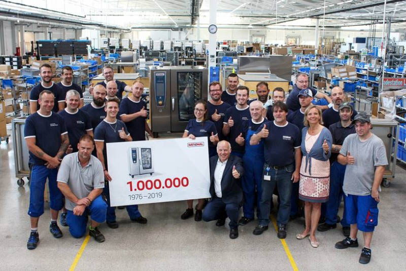 Rational Factory in Landsberg am Lech Celebrates Production Milestone