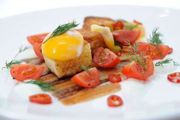 Crispy Pork Belly & Egg On Toast